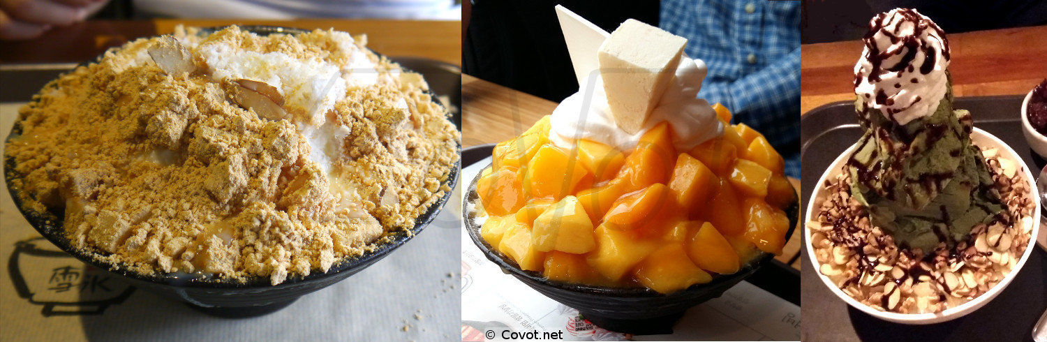 Korean Bingsu Icecream
